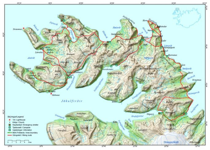 Specific rules in Hornstrandir nature reserve