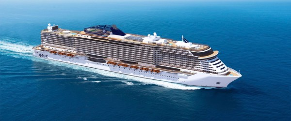MSC Newbuild from Fincantieri. The rumored Project Mille
