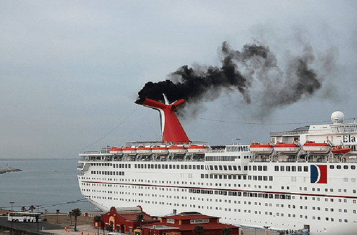 Image result for carnival cruise ships pollution
