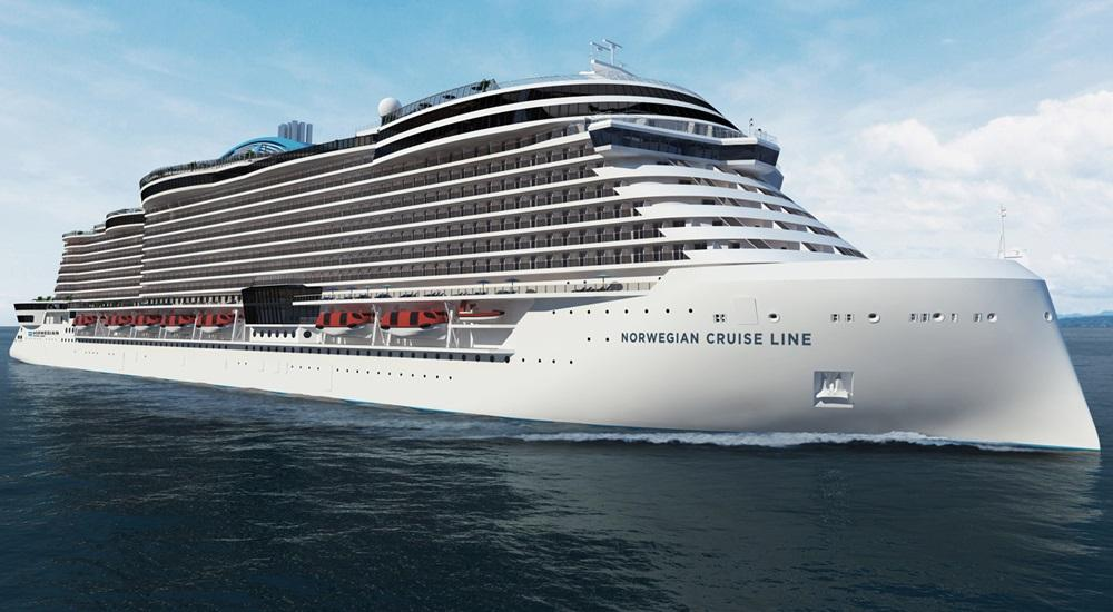 new NCL cruise ship design (Project Leonardo)
