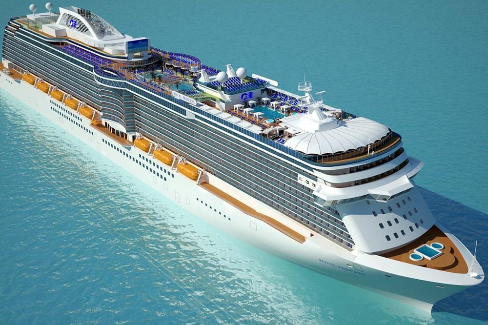 Princess Cruises ship design (Royal, Regal)