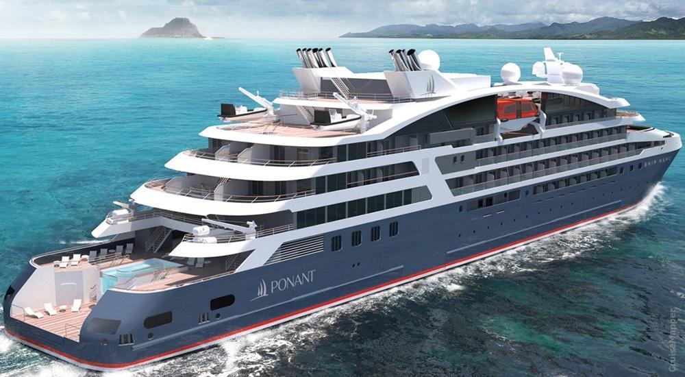 Ponant Cruises new ship design