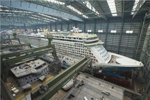 cruise ship building process