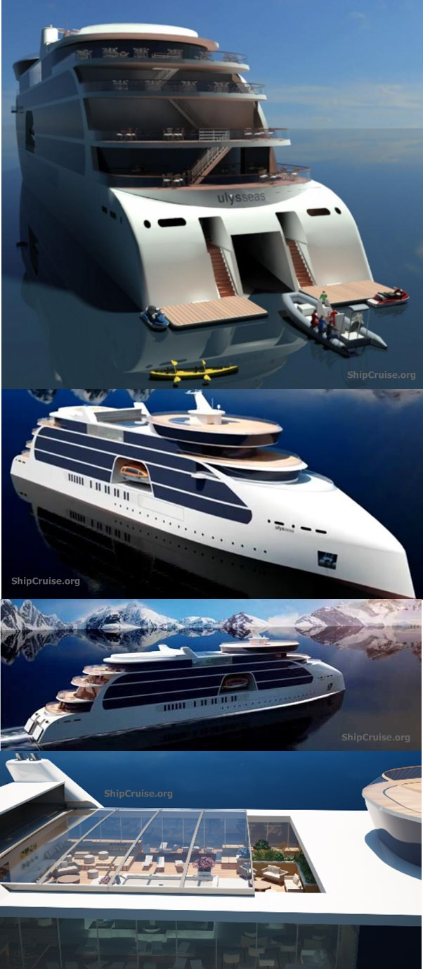 Ulysseas cruise ship design