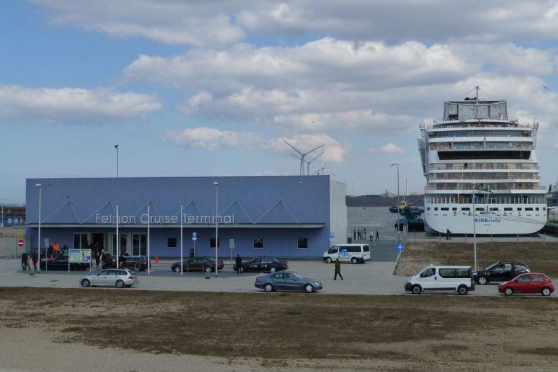 Felison cruiseterminal Ijmuiden