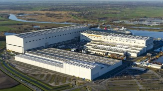 Luftaufnahme_Meyer_Werft_2012_W708 @Meyer Werft