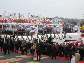 Doop Viking schepen 2013