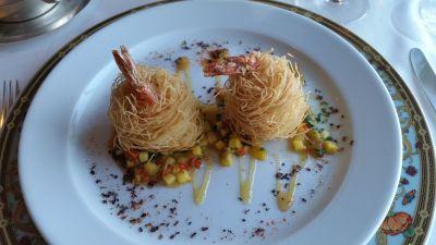 Nautica menu Barcelona