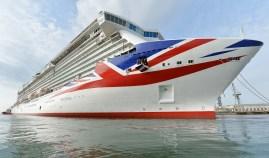 Britannia Fotocredit: James D Morgan/P&O Cruises