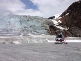 Alaska gletsjer helikopter