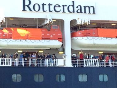 Op weg naar de 100e aankomst in Rotterdam, wel eerst even langs de fjorden van Noorwegen! - Hilde, juni 2015