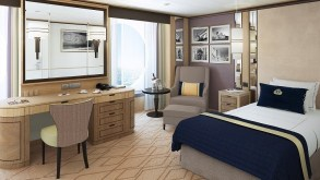 Cunard - Large Britannia Single Stateroom