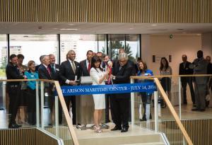 Openingshandeling Arison Maritiem Center