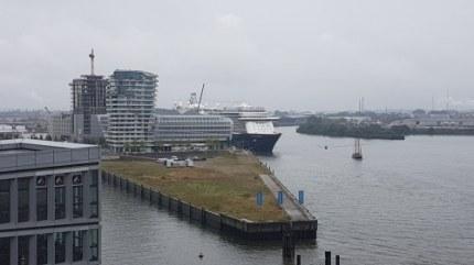 Cruisecenter Hafencity bij de Elbphilarmonie