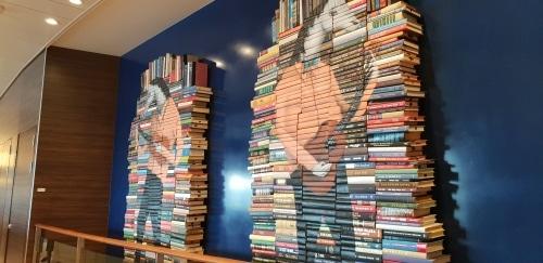 Boeken op een stapel