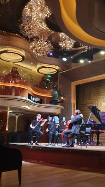 Nieuw Statendam - Lincoln Center Stage