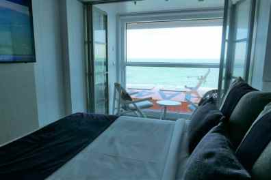 Celebrity Edge balkonhut single 002