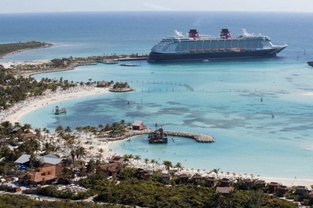 Disney Dream bij Castaway Cay