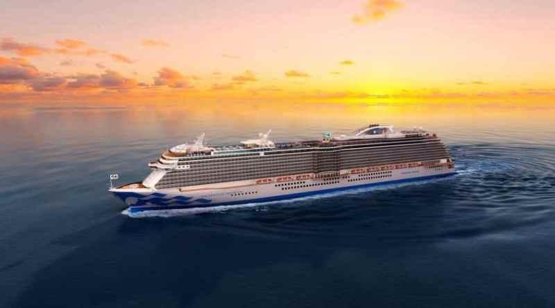 Princess Cruises viert madrina-ceremonie Enchanted Princess