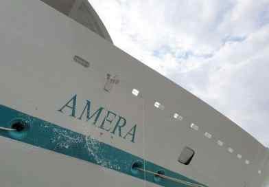 MS Amera feestelijk gedoopt in Bremerhaven