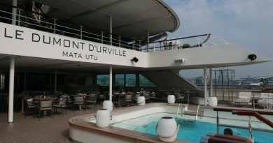 Maidencall voor Le Dumont d`Urville in Amsterdam