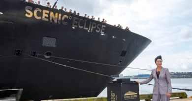 Scenic Eclipse gedoopt door actrice Helen Mirren