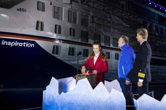 "Hapag-Lloyd Cruises Naming Ceremony ""HANSEATIC inspiration"""