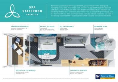Royal Caribbean komt met nieuwe Spa-hutcategorie