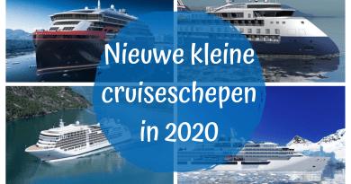 Kleine nieuwe schepen in 2020: expeditieschepen voorop