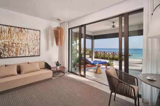 Silver Cove Ocean Villa Living Room