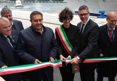 Heropening kade in Savona voor Costa Cruises