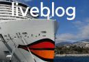 Liveblog: Reportage vanaf de AIDAnova