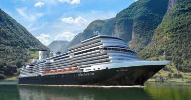Holland America Line verandert naam nieuw schip van 'Ryndam' naar 'Rotterdam'