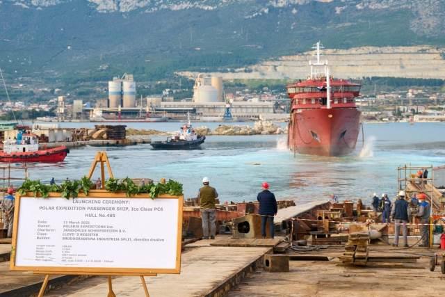 Janssonius te water lating in Split
