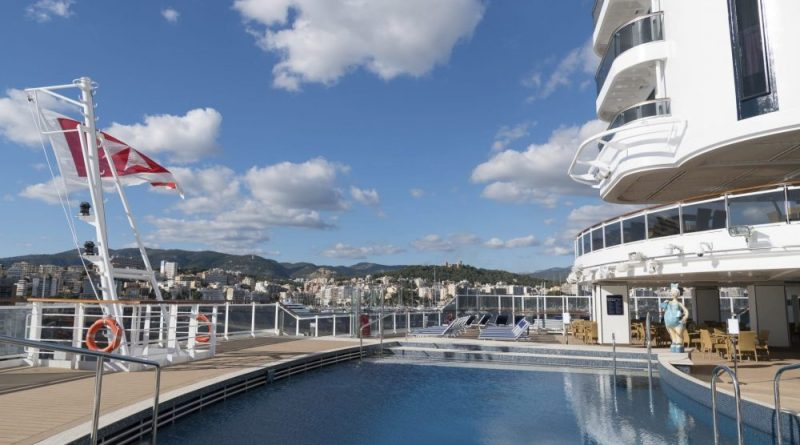 MSC Seaside start per 1 mei in de Middellandse Zee met nieuwe vaarroute