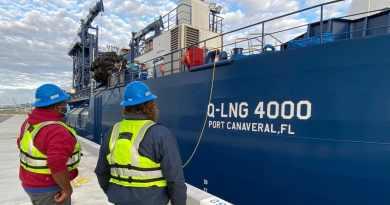 Port Canaveral op weg als eerste LNG cruisehaven in Noord-Amerika