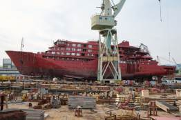 Janssonius op scheepswerf