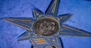 Muntceremonie voor Disney Wish bij Meyer Werft