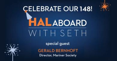 Vier Holland America Line's 148e verjaardag met ambassadeur Seth Wayne