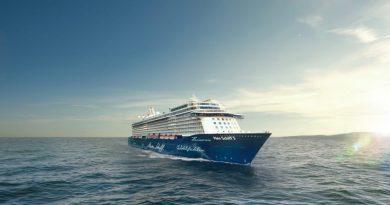 Mein Schiff 5 op zee
