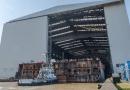 Bouw nieuwe cruiseschip P&O Cruises Arvia in volle gang