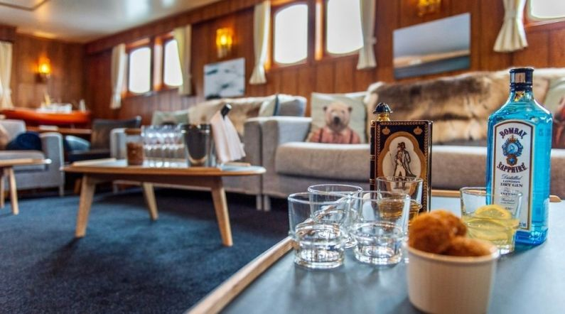 MS Polarfront - Lounge