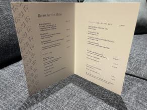 roomservice menu Vasco da Gama