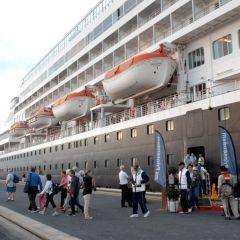 El Puerto de Huelva recibirá cuatro escalas de cruceros con más de 5.500 pasajeros en total