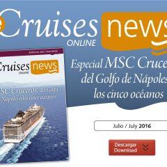 eCruisesNews MSC Cruceros: del Golfo de Nápoles a los cinco océanos