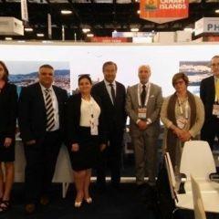 La APB presenta en la Setrade Cruise Global 'Rutas Mediterráneas' y potencia así el puerto de Maó como destino