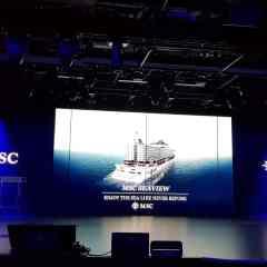 MSC Cruceros celebra el bautizo de su buque insignia MSC Seaview en el histórico puerto de Génova