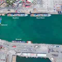 Más de cinco mil personas llegarán a Cádiz el lunes en los cuatro buques de Fred Olsen