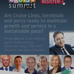 ICS 2018: Are Cruise Lines, terminals and ports ready to maintain growth and service in a sustainable pace?