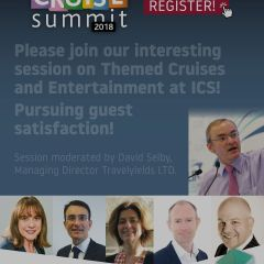 Please join our interesting session on Themed Cruises and Entertainment at ICS!